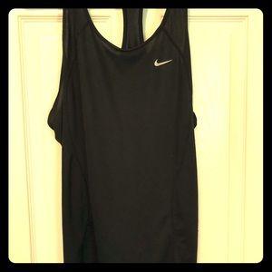 Women's Nike dri fit Razorback tank, size xl